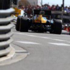 Plano trasero del CT01 de Heikki Kovalainen