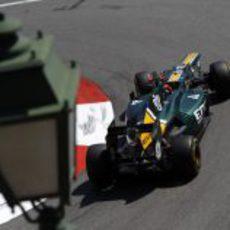 Heikki Kovalainen exprime el potencial del CT01 en Mónaco