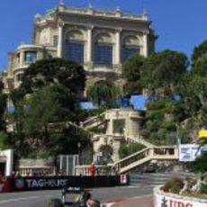 Heikki Kovalainen completa los Libres 1 del GP de Mónaco