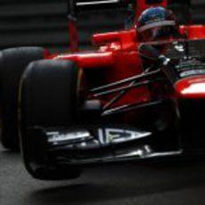 Charles Pic completa los Libres 1 del GP de Mónaco