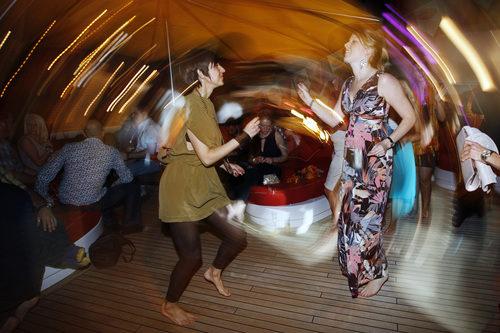Baile y desenfreno en Mónaco