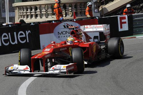 Fernando Alonso saldrá 5º en el GP de Mónaco 2012