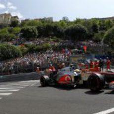 Lewis Hamilton saldrá 3º en el GP de Mónaco 2012