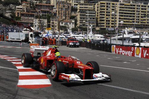 Felipe Massa saca el máximo partido del F2012 en Mónaco