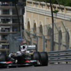 Kamui Kobayashi en los Libres 3 del GP de Mónaco