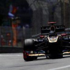 Kimi Räikkönen durante la clasificación del GP de Mónaco