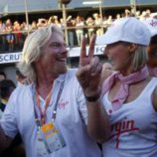 Richard Branson en Australia