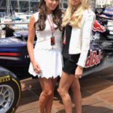 Las hijas de Bernie Ecclestone en el GP de Mónaco 2012