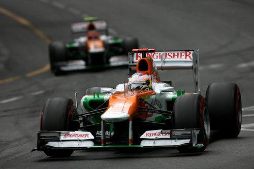 Paul di Resta durante el Gran Premio de Mónaco 2012