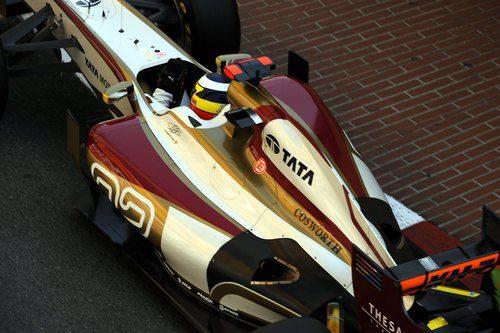 Plano de Pedro de la Rosa a los mandos del F112
