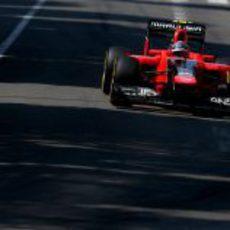 Charles Pic completa la sesión de clasificación en Mónaco