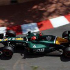 Heikki Kovalainen completa la clasificación del GP de Mónaco