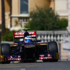 Jean-Eric-Vergne sube hacia el Casino de Mónaco