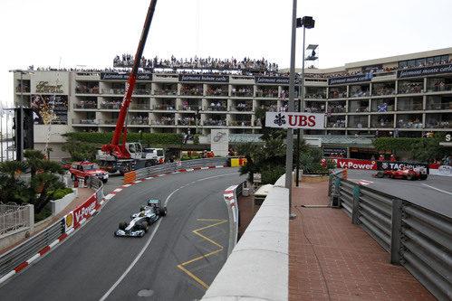 Nico Rosberg y Fernando Alonso, a por el podio