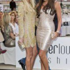 Petra y Tamara Ecclestone en la gala Amber Lounge de Mónaco