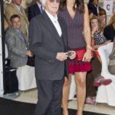 Bernie Ecclestone y Fabiana Flosi en la gala Amber Lounge de Mónaco