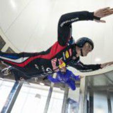 Mark Webber volando en Montreal