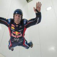 Mark Webber volando en Canadá
