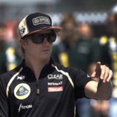 Kimi Räikkönen llega a Canadá