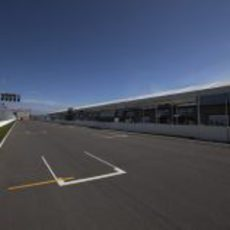 Recta principal del circuito Gilles Villeneuve