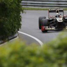Kimi Räikkönen a los mandos del E20 en Montreal