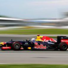 Sebastian Vettel con superblandos en los primeros libres de Canadá