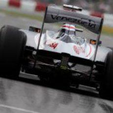 Plano del nuevo alerón de Williams en Canadá