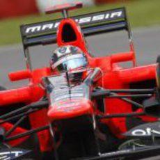 Timo Glock exprime su Marussia en Canadá