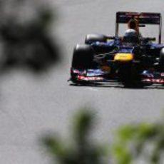 Sebastian Vettel logra la 'pole' en el GP de Canadá 2012