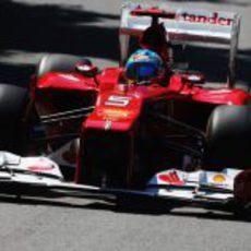 Fernando Alonso en la clasificación del GP de Canadá 2012