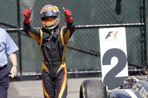 Segundo puesto para Grosjean