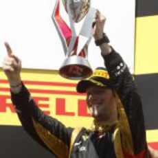 Trofeo canadiense para Romain Grosjean