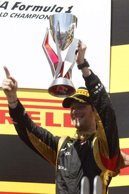 Trofeo canadiense para Romain Grosjean