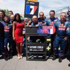 Toro Rosso apoya a las víctimas del terremoto de Italia