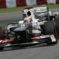 Kamui Kobayashi durante el GP de Canadá 2012