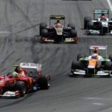 Felipe Massa trata de mantener posición en Canadá