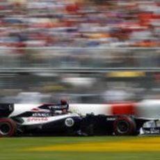 Pastor Maldonado vuela en el GP de Canadá 2012
