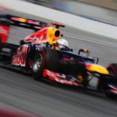 Sebastian Vettel terminó cuarto en Canada