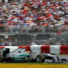 Nico Rosberg, sexto en Montreal