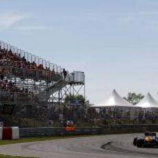 Segunda curva del Gilles Villeneuve