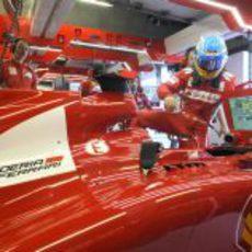 Fernando Alonso se sube al F2012