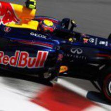 Mark Webber prueba los superblandos en Montreal