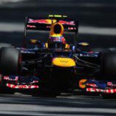 Mark Webber exprime su RB8 en la clasificación de Canadá