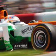 Paul di Resta completa unas vueltas en los Libres 3 del GP de Canadá