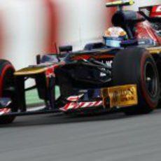 Jean-Eric Vergne conduce su monoplaza en los Libres 3 del GP de Canadá