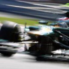 Vitaly Petrov vuela en la clasificación del GP de Canadá