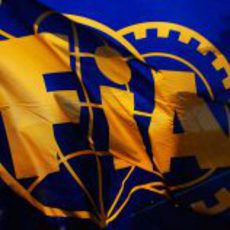 Bandera de la FIA