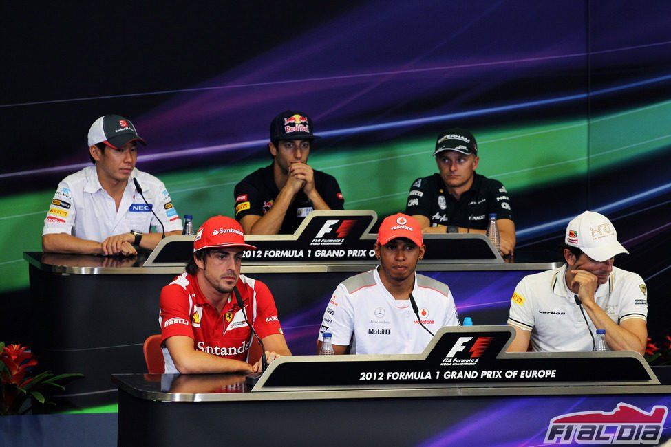 Rueda de prensa de la FIA del jueves en Valencia