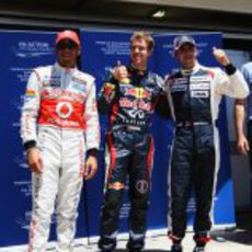 Los tres más rápidos del sábado en Valencia