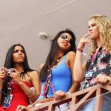 Chicas guapas en el GP de Europa 2012